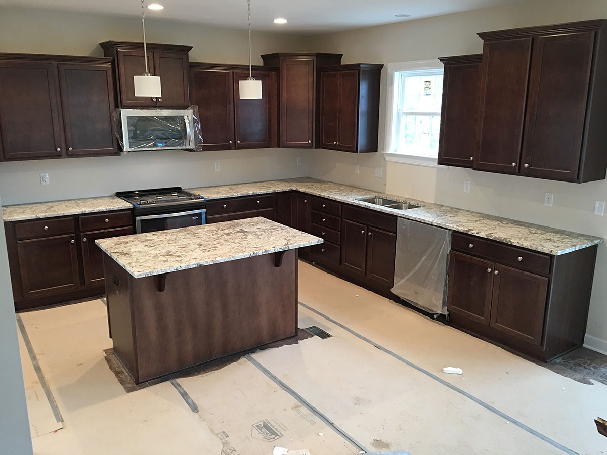 Top 25 Best White Granite Colors for Kitchen Countertops ... on Kitchens With Black Granite Countertops  id=19107