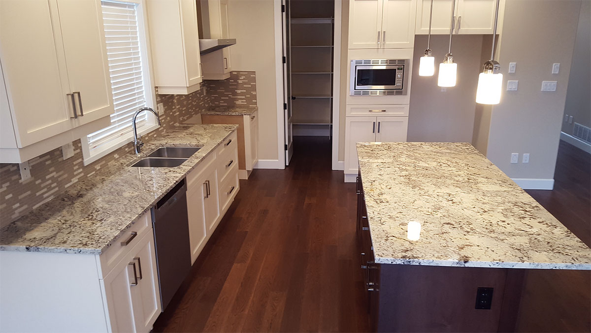 Top 25 Best White Granite Colors for Kitchen Countertops ... on Best Backsplash For Granite Countertops  id=85982