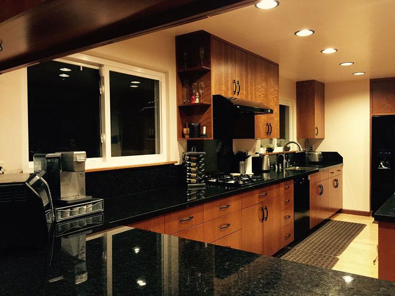 Best Black Granite Countertops (Pictures, Cost, Pros & Cons) on Black Granite Countertops Kitchen  id=52226