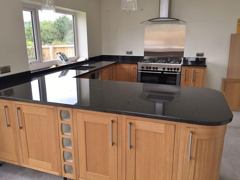 Best Black Granite Countertops (Pictures, Cost, Pros & Cons) on Dark Granite Countertops  id=57948
