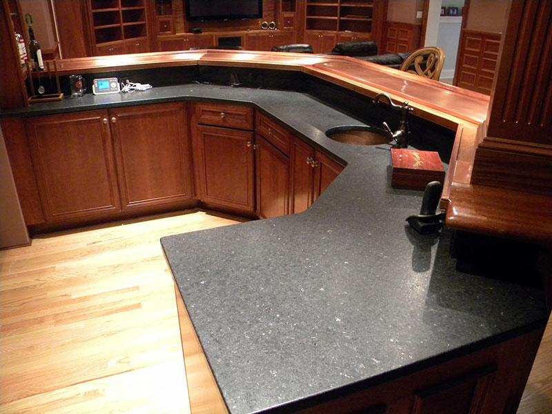 Best Black Granite Countertops (Pictures, Cost, Pros & Cons) on Black Granite Countertops  id=11725