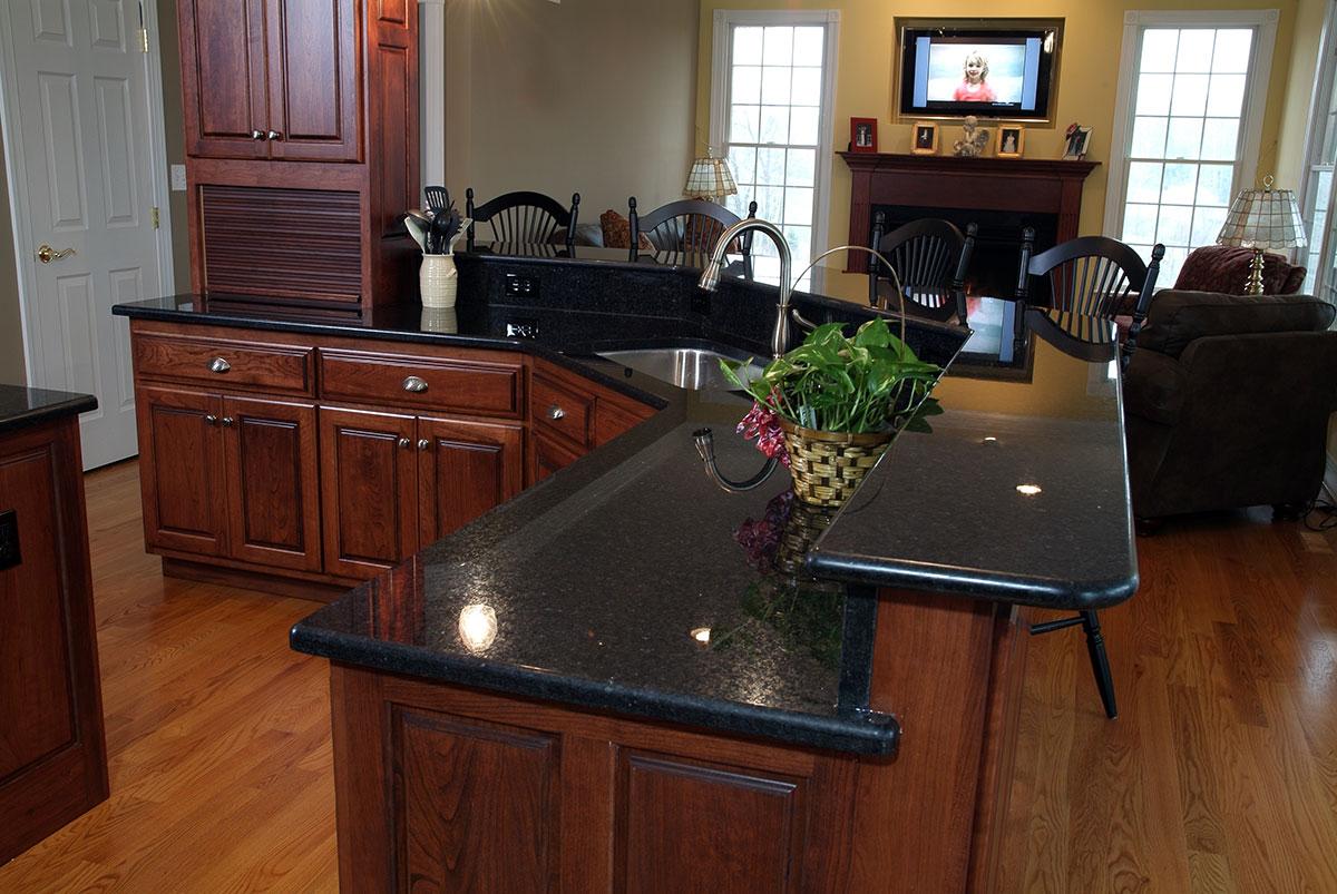 Best Black Granite Countertops (Pictures, Cost, Pros & Cons) on Dark Granite Countertops  id=27951