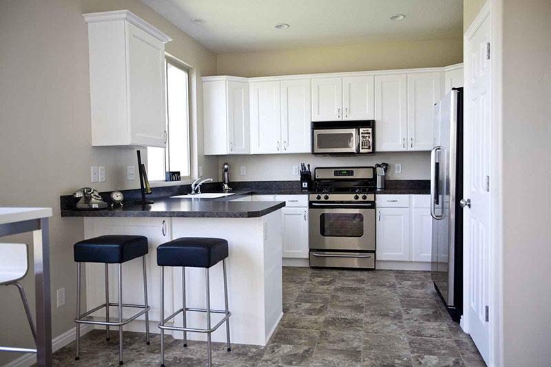 Best Black Granite Countertops (Pictures, Cost, Pros & Cons) on Kitchens With Black Granite Countertops  id=36618