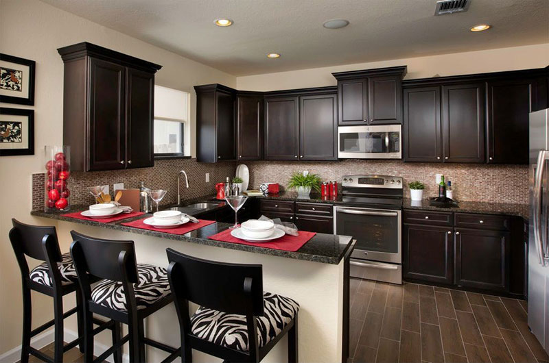 27 Best Black Pearl Granite Countertops Design Ideas on Dark Granite Countertops With Dark Cabinets  id=65594