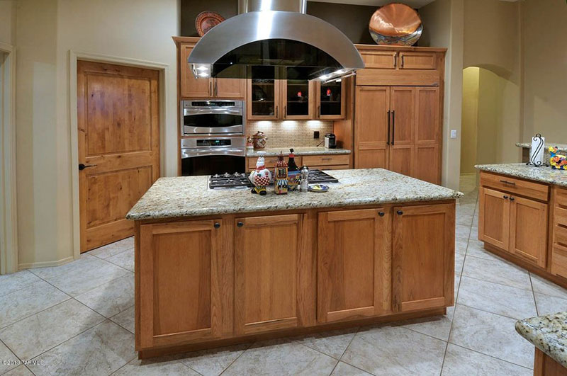 Alaska White Granite Countertops (Design, Cost, Pros and Cons) on Maple Cabinets With White Granite Countertops  id=61298