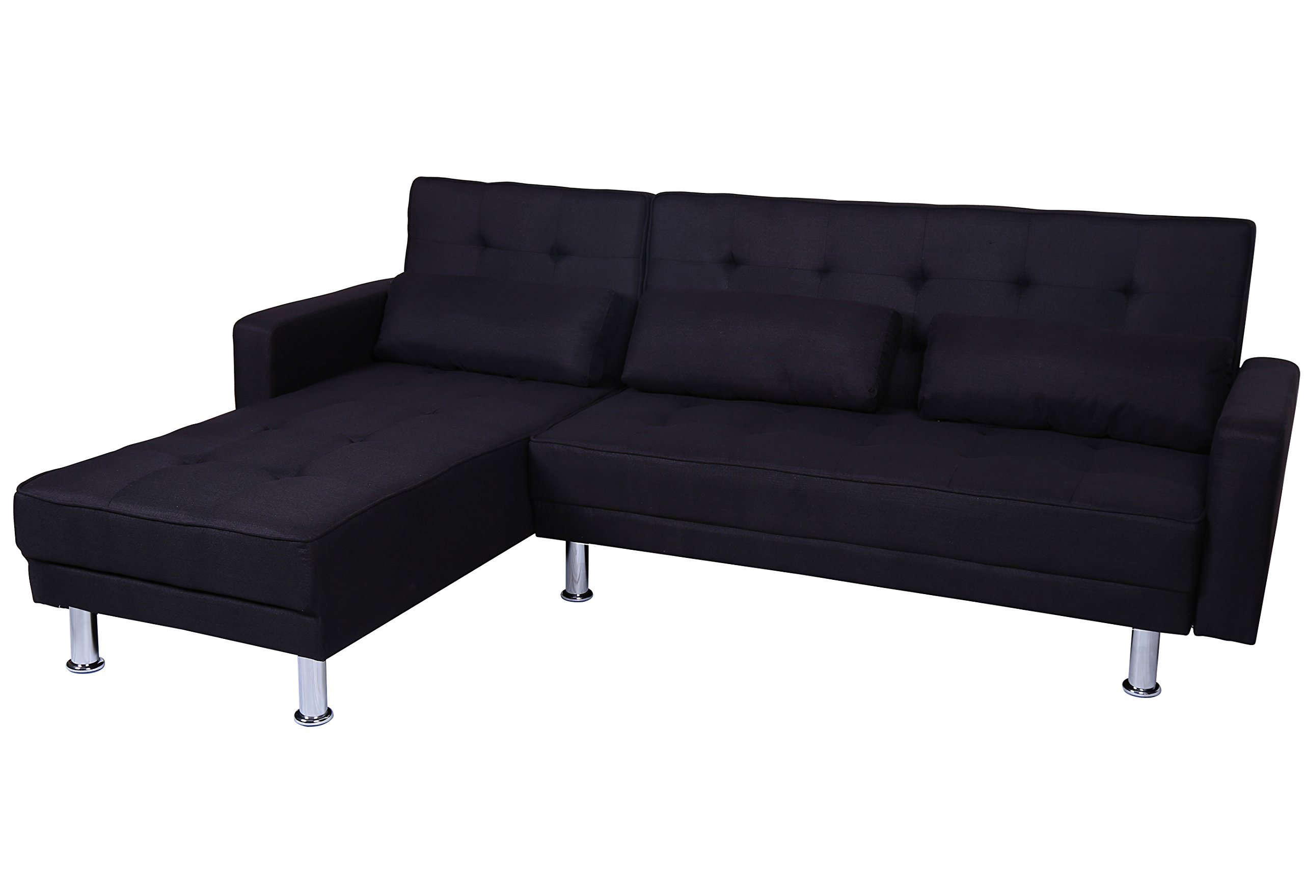 This contemporary upholstered sectional is a sensational piece. It features a narrow profile that fits with many decorating styles and it still offers ...  sc 1 st  Homeluf.com : best cheap sectional sofa - Sectionals, Sofas & Couches