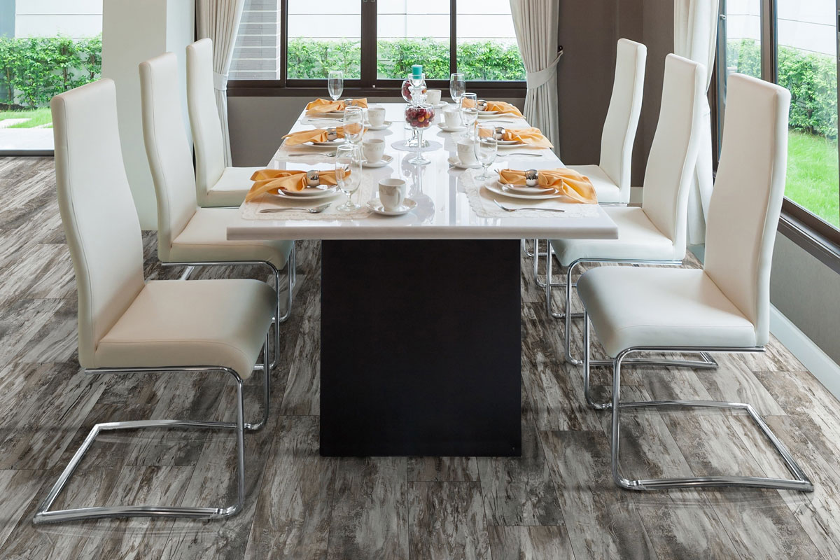 Measuring In At 7.3u201d By 48u201d, With An Incredible Thickness Of 8mm, The  Fusion Warm Pewter Is A Mixture Between Rustic With Cape Cod Style  Influence.