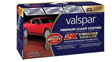 Valspar Garage Floor Epoxy Review