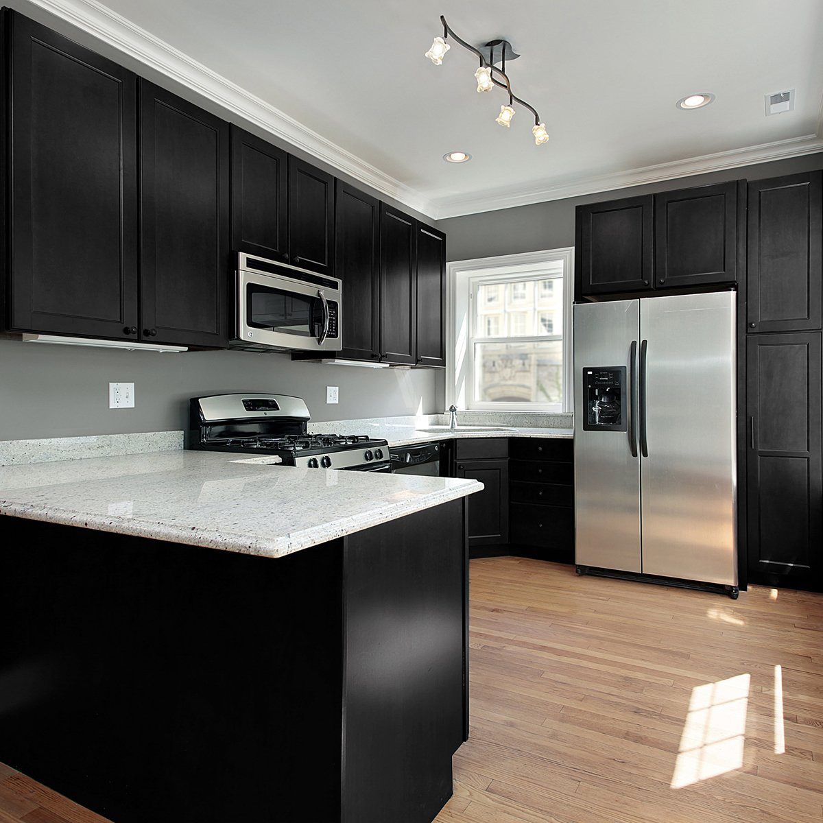 black paint for kitchen cabinets nuvo cabinet paint kit review 2018 homeluf 12427