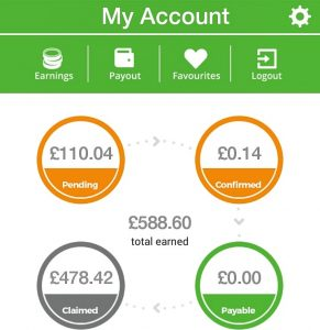 One of 5 Frugal Things I did - getting cashback for switching broadband.