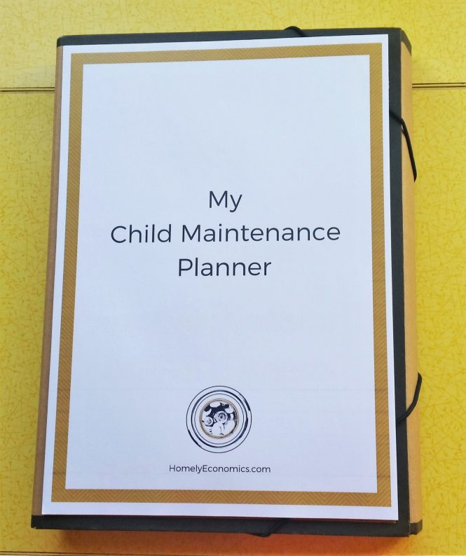 Click on the picture to download your free Child Maintenance Planner.