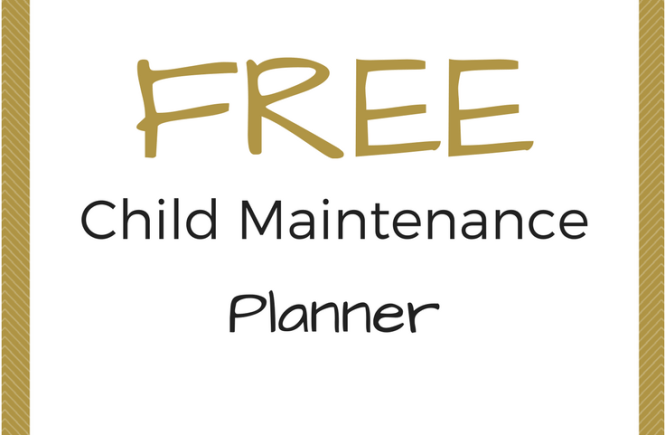 Click on the picture to download your free Child Maintenance planner and get help organising your CMS case.