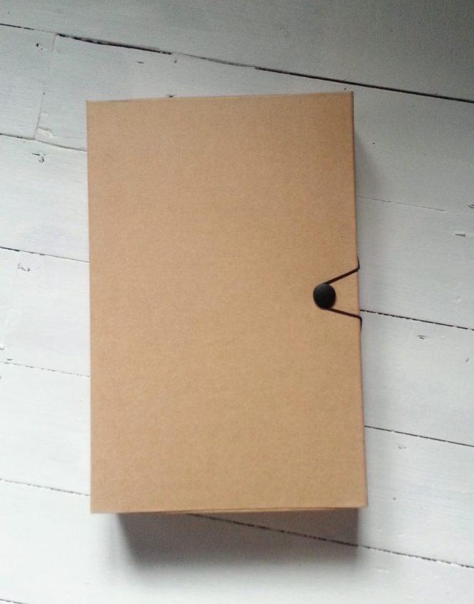 Brown kraft box file