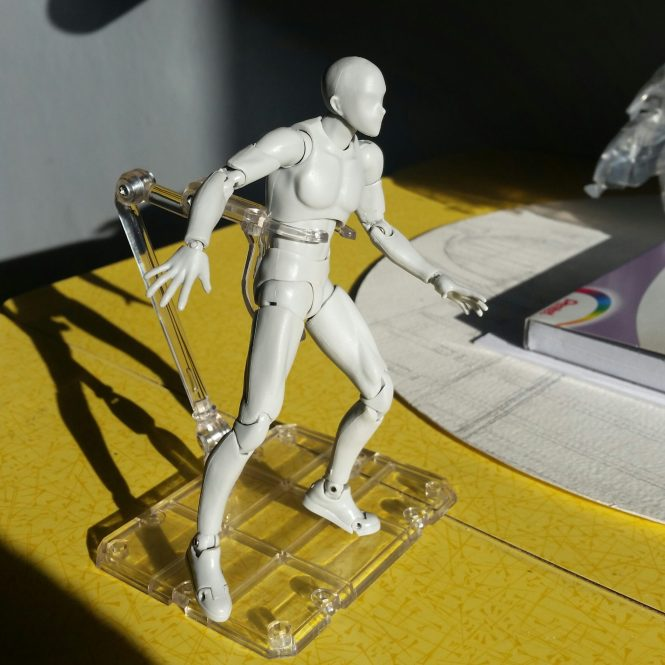 Body Kun - the perfect artist's mannequin, not just for anime fans.