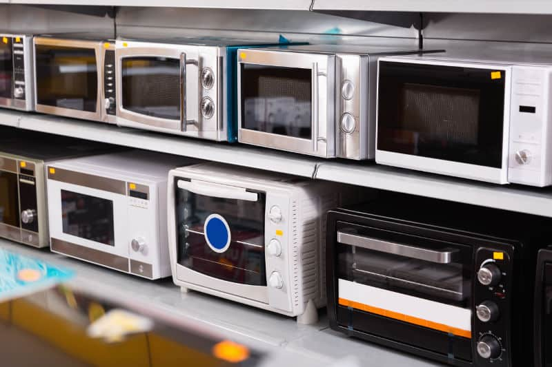 microwave sizes guide and comparison