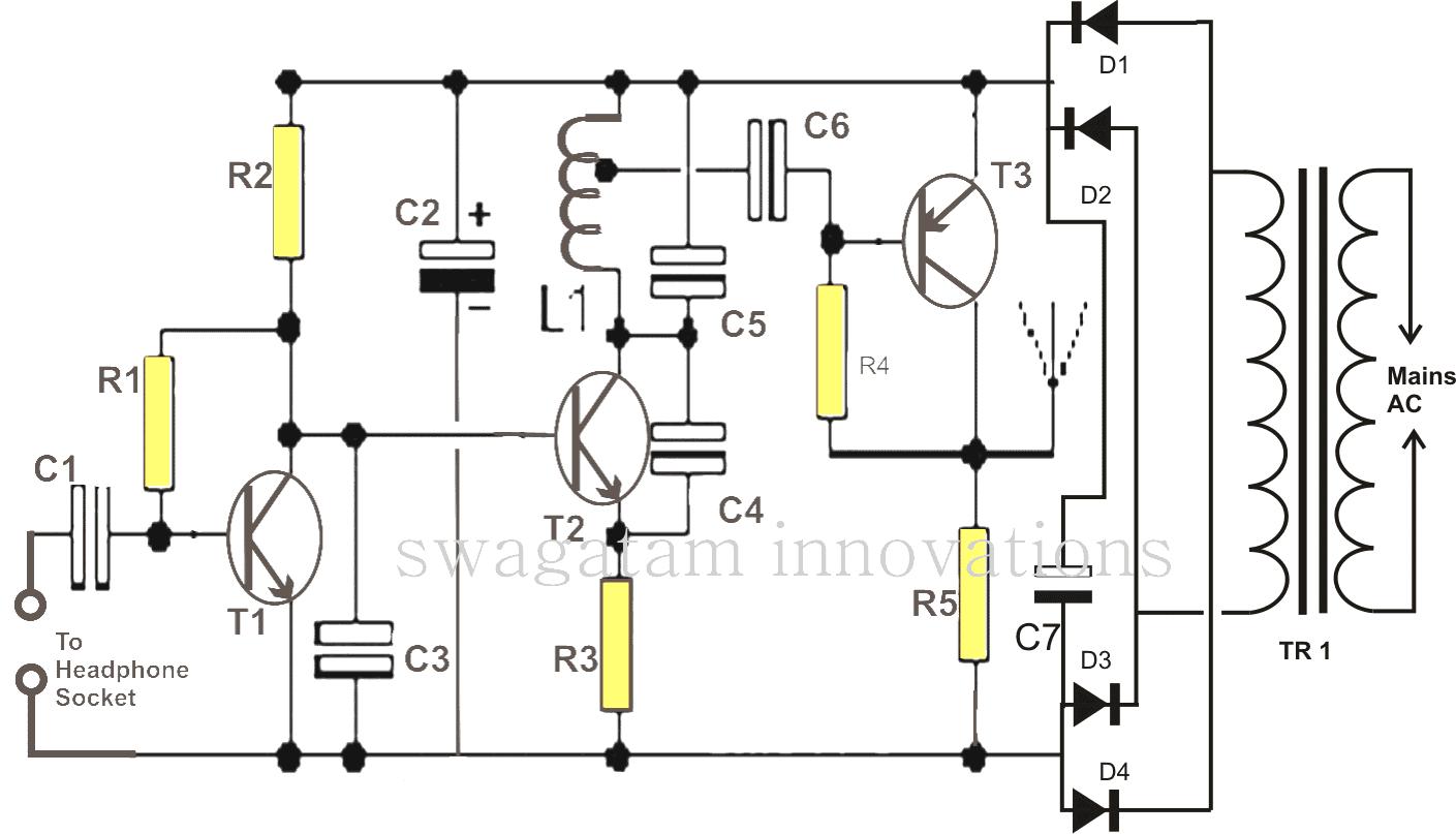 Make This Wireless Speaker Circuit