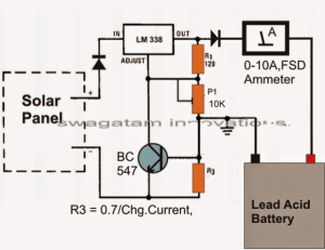 9 Simple Solar Battery Charger Circuits | Homemade Circuit