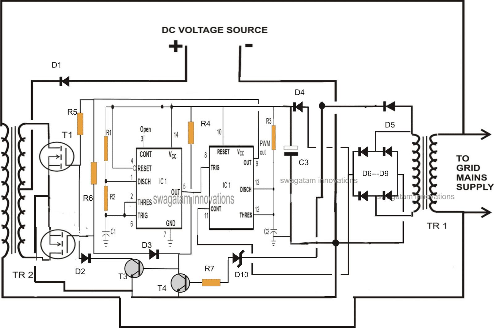 Designing A Grid Tie Inverter Circuit