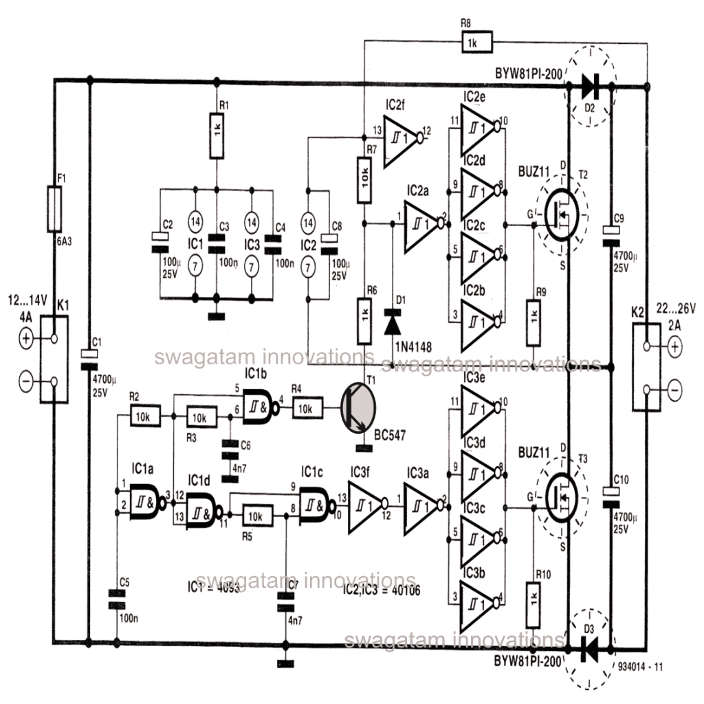 High Current Voltage Doubler Circuit