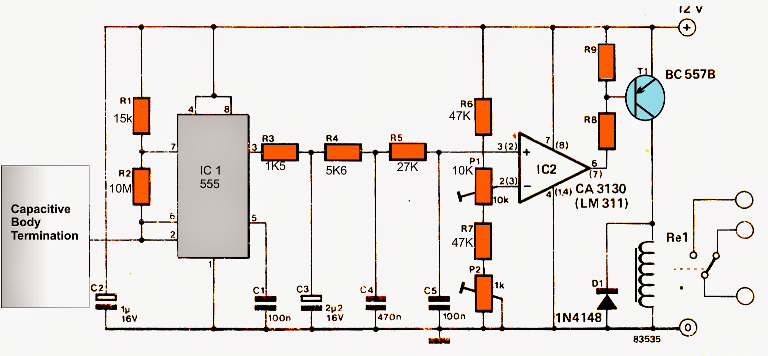 Make This Capacitive Touch Sensor Circuit