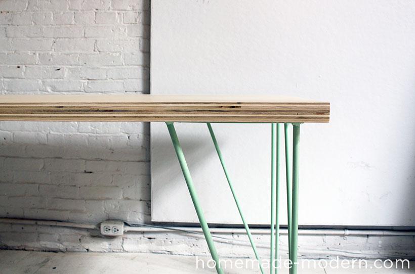 HomeMade Modern DIY The Easy DIY Table Options