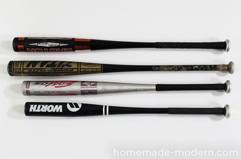 HomeMade Modern EP43 Baseball Bat Lamp