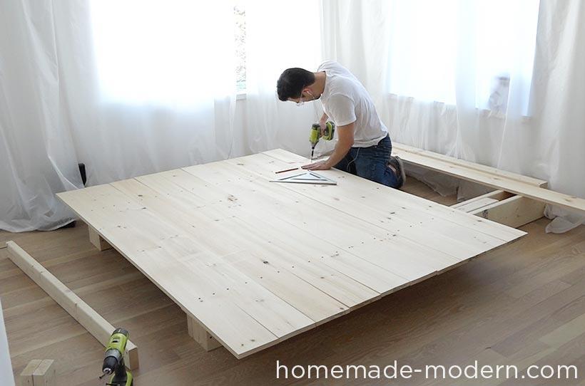 Diy Modern Platform Bed Builds Ep 48 You