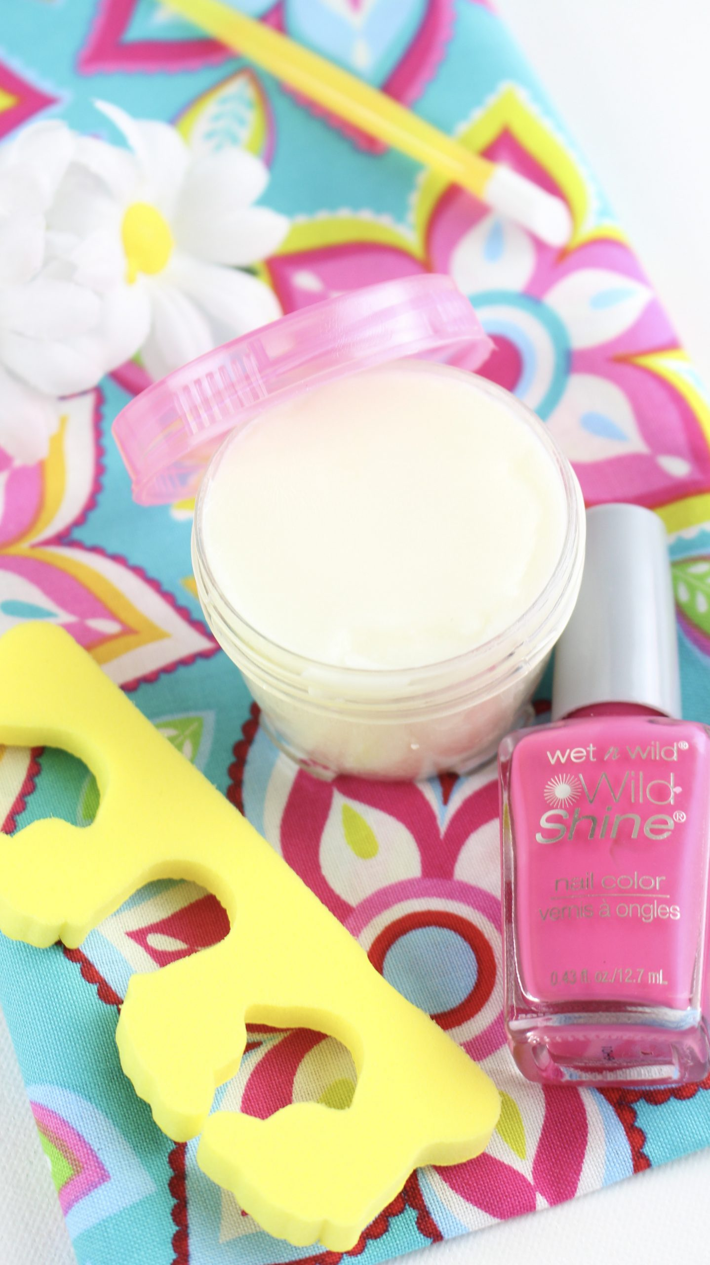 DIY Cuticle Cream with Nail Polish and Tools