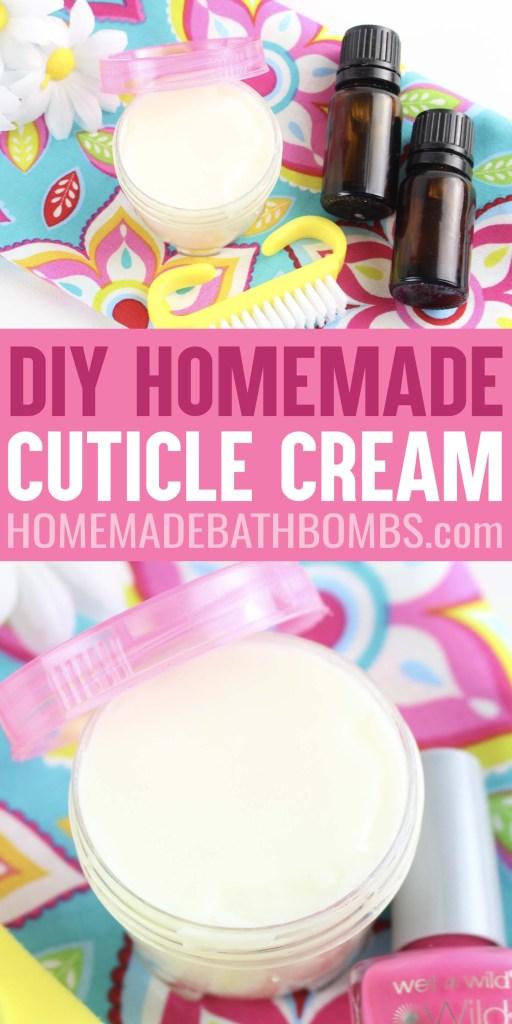 DIY Cuticle Cream Homemade