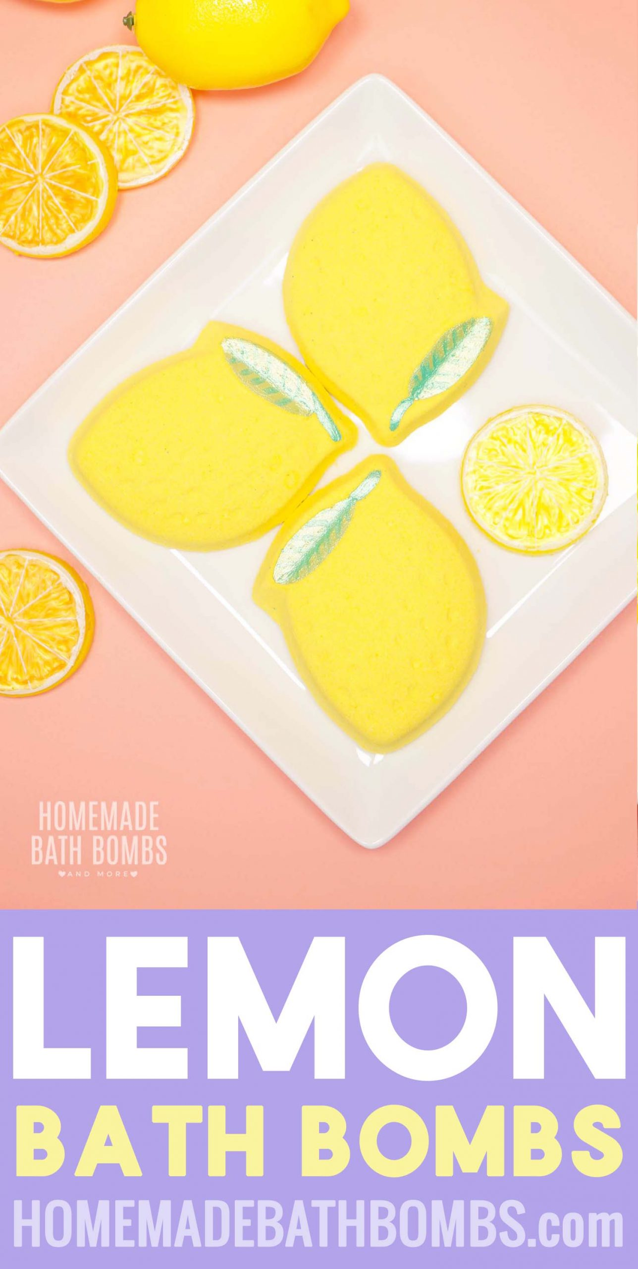 Learn how to make easy DIY lemon bath bombs! When life gives you lemons, relax and unwind with these soothing and refreshing lemon bath bombs! via @hihomemadeblog