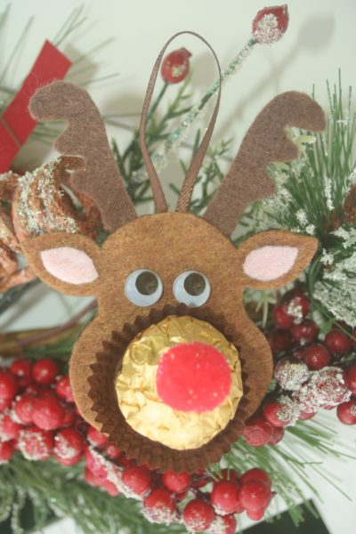 Rocher Chocolates Reindeer Teddy Amp Polar Bear Felt
