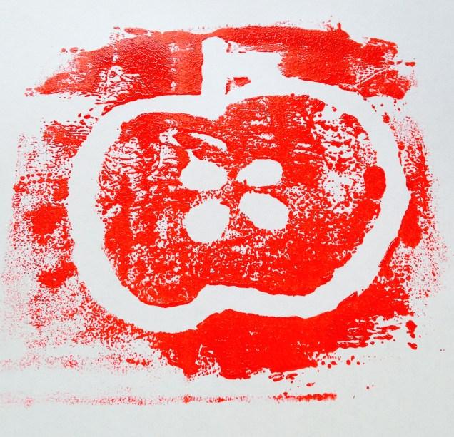 apple print by homemadecity.com