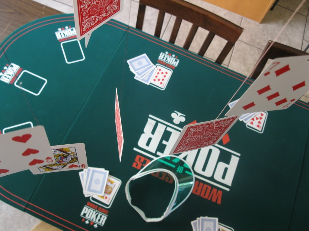 Poker Night Birthday Party – Decorations