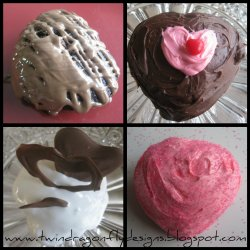 Chocolate Heart Cakes