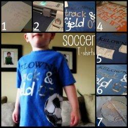 Soccer T-shirt Tutorial