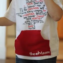 Canada Day T-shirt Tutorial