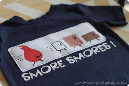 S'more Smores T-shirt Tutorial