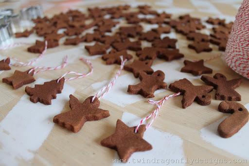 Apple Cinnamon Ornaments