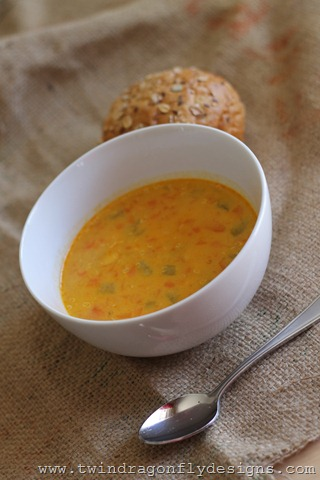 Quinoa Curry Chicken Soup