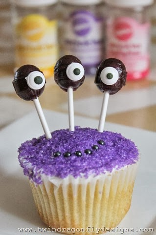DIY Monster Cupcakes