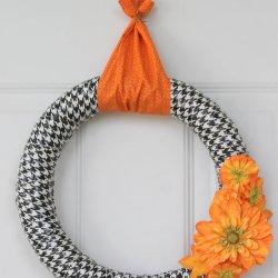 Fall Duct Tape Wreath
