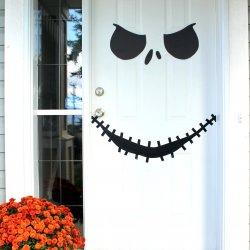 Jack Skellington Door with Free Printable