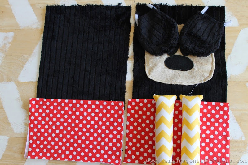 Mickey Mouse Inspired Plush Tutorial