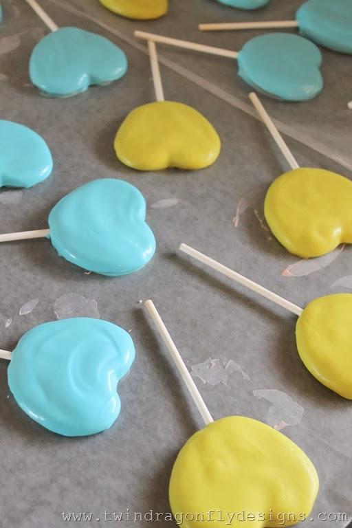 Valentine Monster Cookie Pops