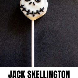 jack skellington oreo cookie pops