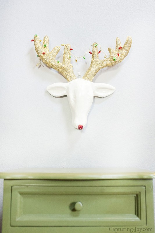 Reindeer Head Art