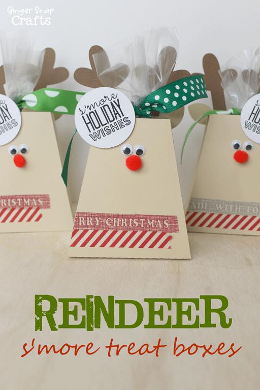 Reindeer Treat Boxes