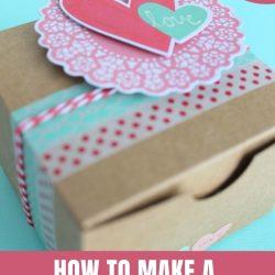 how to make a valentine box