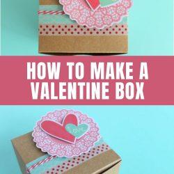 valentine box craft