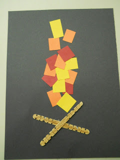 Simple Paper Campfire